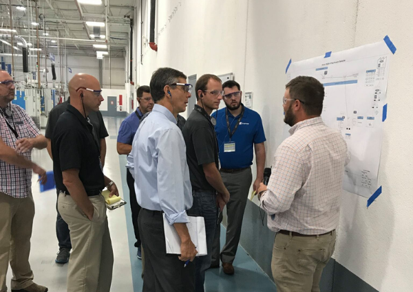 South Dakota group touring Kentucky manufacturing plant