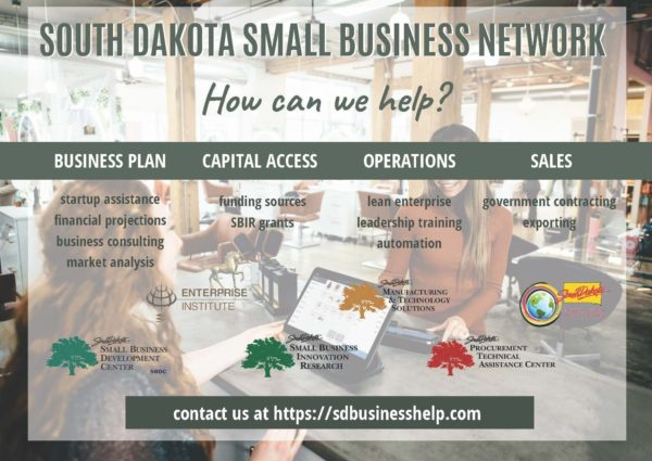 South Dakota Small Business Network Branches explained